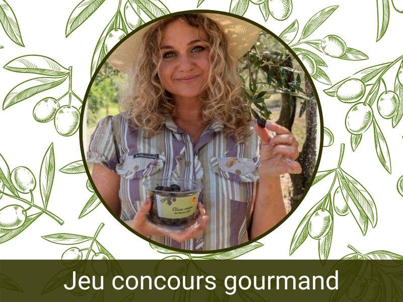 OLIVE DE NYONS - Actualité- Jeu concours Gourmand